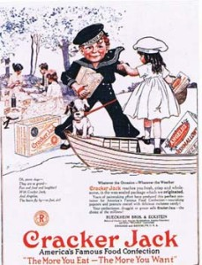 A Cracker Jacks Advertisement from 1919