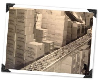 In Our Candy Company Warehouse