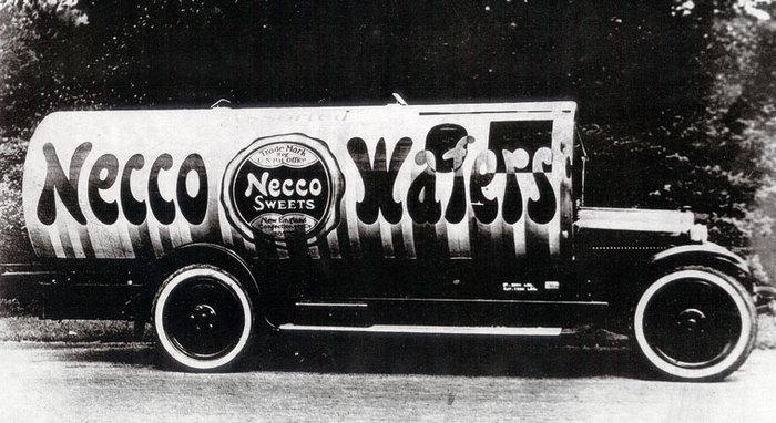 NECCO Wafer Truck