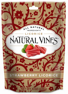 Natural Vines Strawberry Licorice