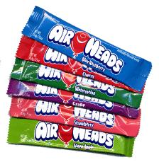 Airheads are a unique candy similar to taffy....but not exactly...