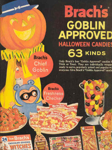 A classic Brach's Halloween Advertisement from the 1950's