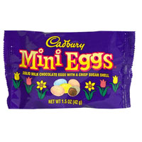 Cadbury Mini Eggs are tasty and this posting explores the many different ways that they can be enjoyed