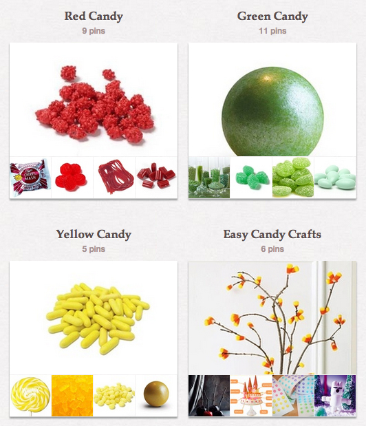 Candy Favorites on Pinterest