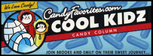 "Join the ""Cool Kidz""  Brooke and Emily as they share their opinion of Toosie Rolls in all shapes and sizes. Click on the picture and try some yourself!"