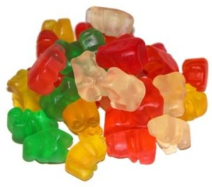 Haribo Gummi Bears are better than teddy bears....