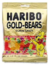 Haribo Gummi Bears were invenetd in the 1920's