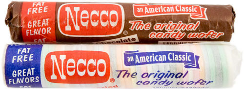 NECCO Wafers in the 8 Original Flavors