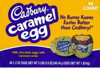 Cadbury Caramel Eggs are a yummy addition to the Cadbury candy lineup...