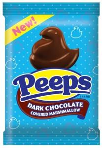 Chocolate Covered Peeps are available in Dark or Milk Chocolate and add a new twist on an old classic...