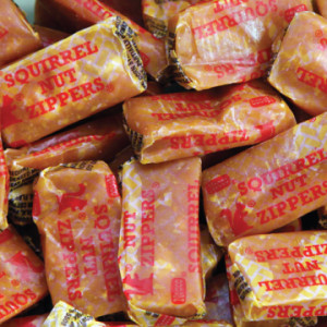 Squirell Nut Zippers occupy a unique place in candy history as they are one of the older candies still available