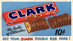 Clark Bars are a true retro candy and hail from Pittsburgh which is home to CandyFavorites.com