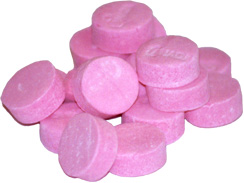 Necco Wintergreen Lozenges are refreshing and fun to eat