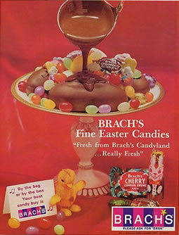 Brach's Easter Candy Advertisment Circa 1967