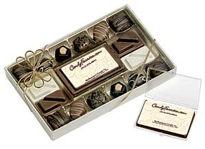 We can imprint almost any image onto edible chocolate molds, made from the finest chocolates.