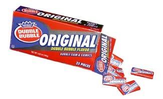 original dubble bubble gum packaging