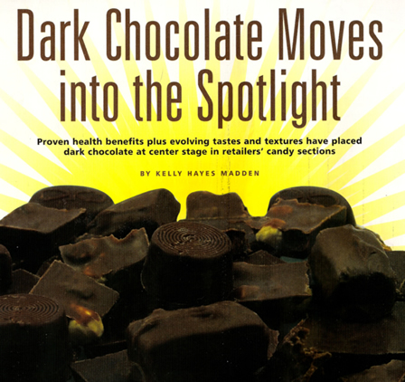 Dark Chocolate Moves into the Spotlight