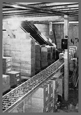 Bulk Candy Storage Warehouse