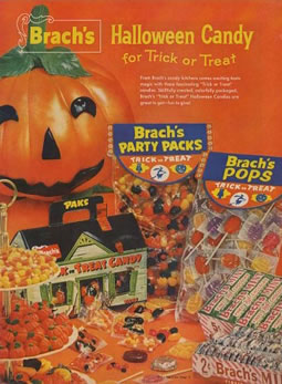 Brach's Halloween Candy Advertisment Circa 1960's