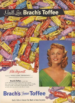 Brach's Butter Toffee Ad