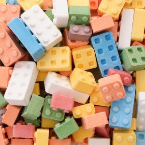 Candy Blox are just like Lego