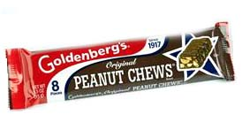 Goldenbergs Peanut Chews have been an iconic candy favorite since 1917