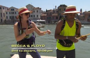 Becca Droz on the Amazing Race