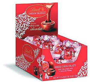Lindt Milk Chocolate and Lindor Balls give you a true taste of chocolate heaven...