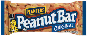 "If you feel like you are going ""nuts"", why not try Planters Original Peanut Bar..."