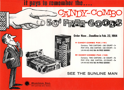 The History Of Pixy Stix Candy Favorites