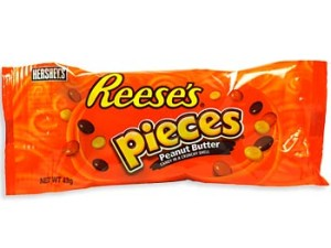 Reese's Pieces were one of the first examples of modern product placement when they were featured in ET - The Extraterrestrial!