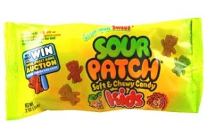 Sour Patch Kids Gummi Candy was one of the first sour candies!