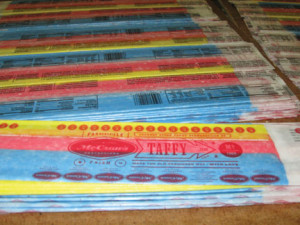 McCraws Giant Taffy Sticks are back!