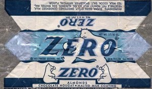 Vintage Zero Bar Wrapper