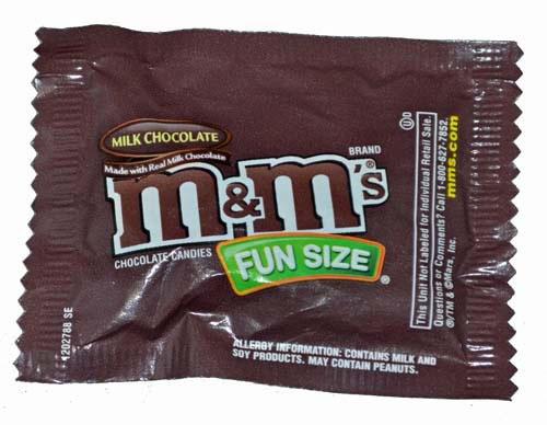 Halloween Fun Size Candy