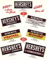 Hershey Bars