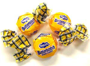 Brach's Butterscotch Disks. Great tasting and long shelf life. Who could ask for more?
